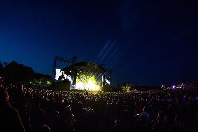 Crowd at Best Kept Secret Festival