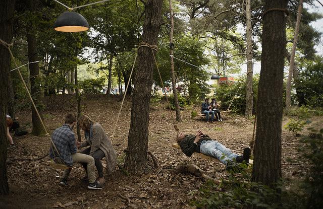 Woods at Best Kept Secret Festival